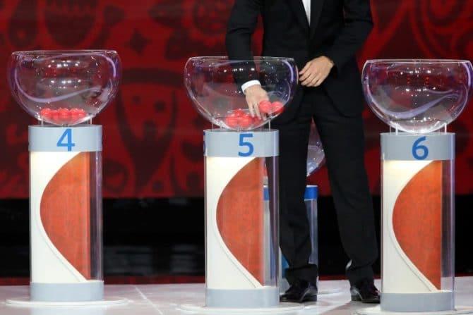 Am Sonntag werden die Qualifikationsgruppen zur Fußball EM 2020 ausgelost. AFP PHOTO / KIRILL KUDRYAVTSEV /