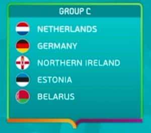 Die EM Quali Gruppe C von Deutschland.