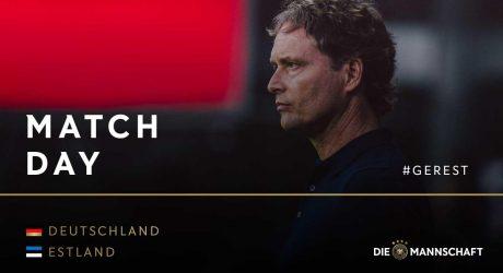 Aufstellung Deutschland heute gegen Estland in der EM-Quali (RTL live) * Update