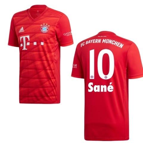 Leroy Sané beim FC Bayern München - Seine Rückennummer wäre die Nr. 10!