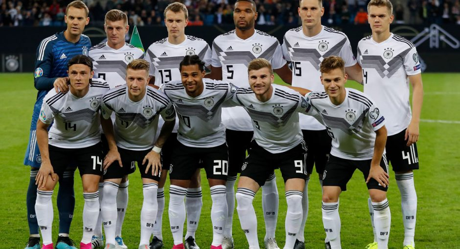 Deutsche Fussballnationalmannschaft 2019 2020