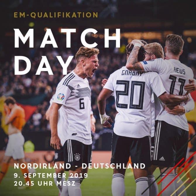 Matchday - Die Aufstellung Deutschland gegen Nordirland