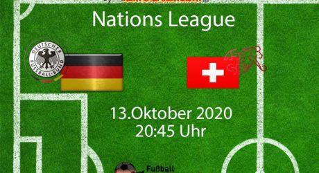Länderspiel Deutschland Schweiz Nations League heute * Aufstellung & ARD Livestream (Update!) 3:3 (1:2)