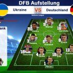 Nations League Länderspiel Deutschland - Ukraine heute * Aufstellung & Kader * ARD Livestream (Update)
