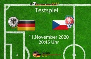 Deutschland gegen Tschechien am 11.11.2020 um 20:45 Uhr (live im RTL)
