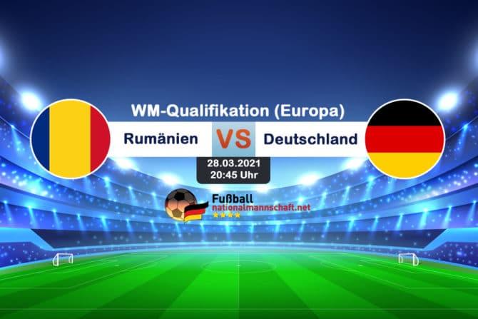 Länderspiel Deutschland gegen Rumänien am 28.März 2021