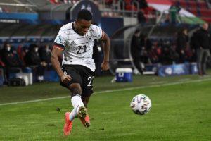 Fußball heute: Ridle Baku im UEFA U21 Spiel gegen Ungarn - heute geht es gegen die Niederlande! ATTILA KISBENEDEK / AFP