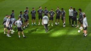 DFB Fussball Länderspiele heute - Training mit Jogis Jungs (Foto AFP)