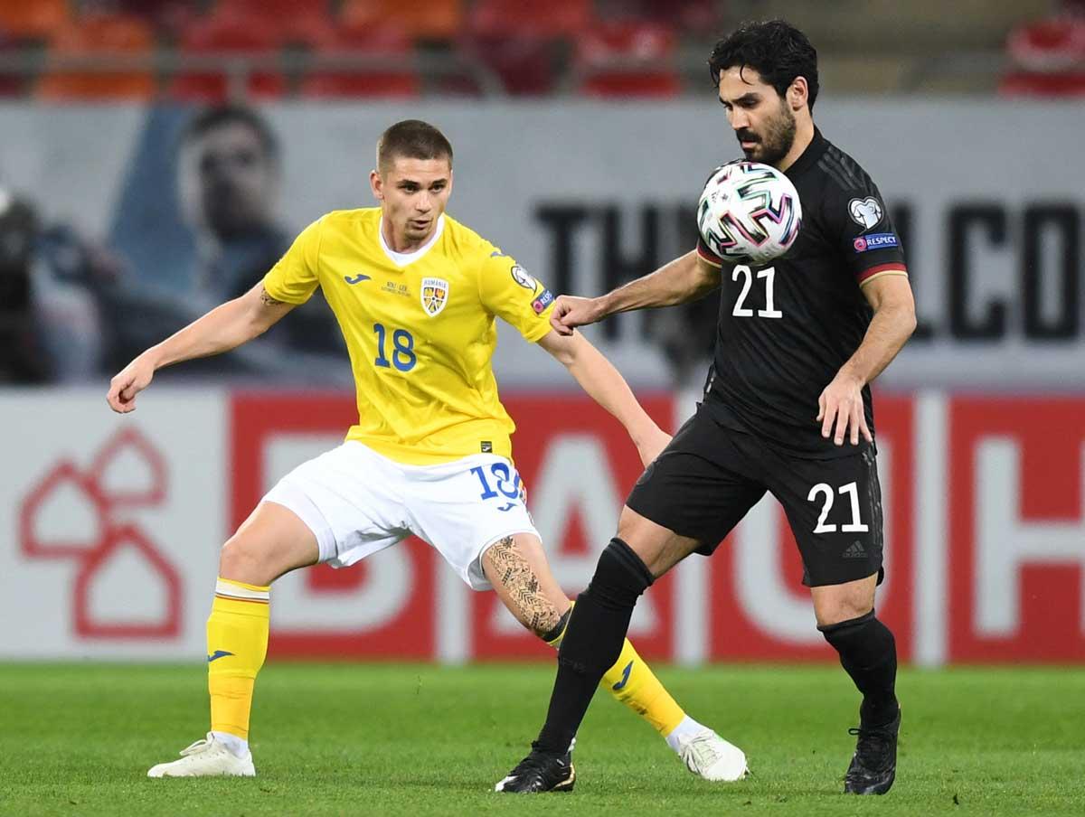 Fußball Länderspiel heute: DFB Kapitän wird heute Ilkay Gündogan sein. (Foto AFP)