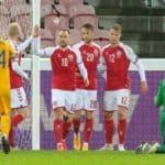 Fußball heute: EM 2021 Vorrunde Dänemark gegen Finnland ** 0:1 Ergebnis ** ZDF live