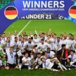 Fußball heute Aufstellung: Das U21 EM Finale Deutschland - Portugal * Europameister 2021
