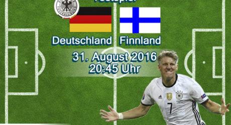 Fußball heute ** Länderspiel Deutschland – Finnland ** Livestream *Liveticker ** Bewegende Worte vor dem Anpfiff * Endstand 2:0