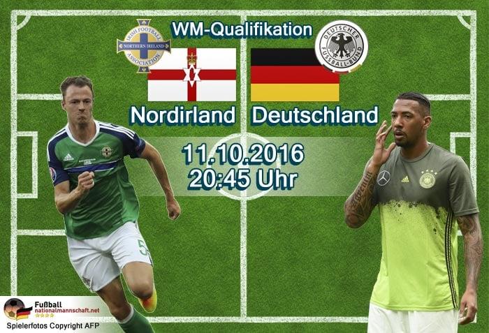 Länderspiel Deutschland gegen Nordirland in der WM 2018 Qualifikation