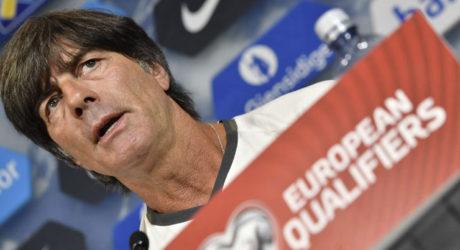 DFB Pressekonferenz mit Löw, Klose & Khedira *** Fußball heute Liveticker