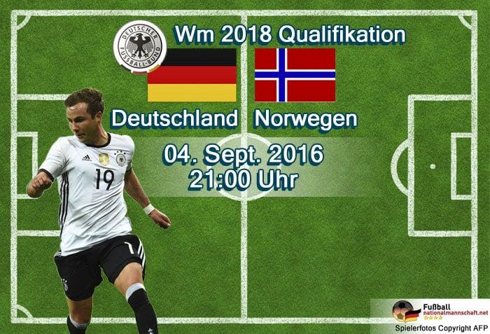 Länderspiel Norwegen - Deutschland